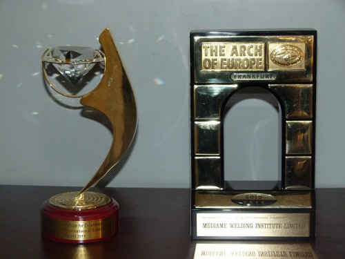 MWI International Arch of Europe Award in the Gold Category