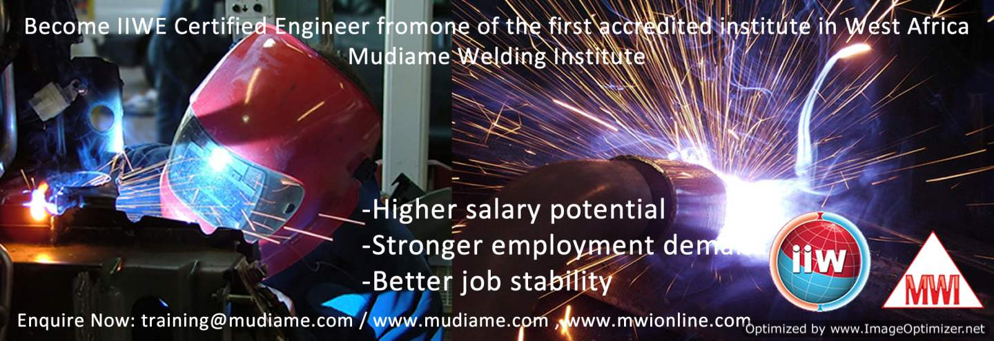 BECOME A CERTIFIED INTERNATIONAL WELDING ENGINEER