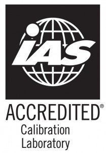 IAS Accredited calibration